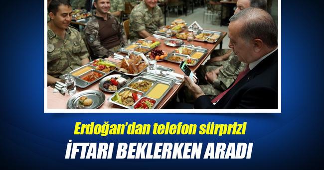 Erdoğan'dan görüntülü konuşma sürprizi