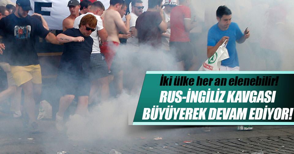 EURO 2016'da Rus – İngiliz kavgaları sürüyor!