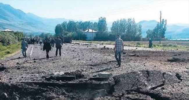 Van'da bombalı tuzak: 6 polis yaralı