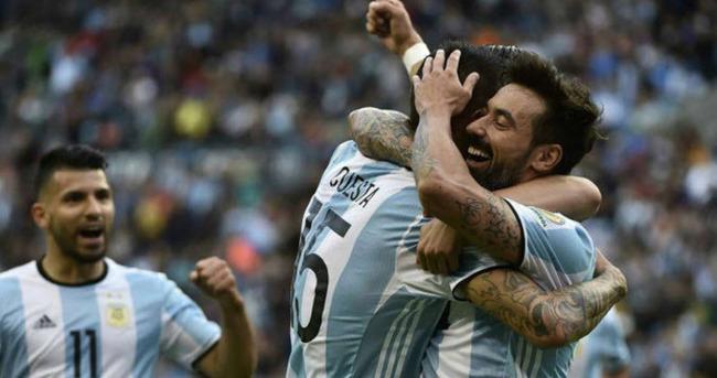 Arjantin lider bitirdi