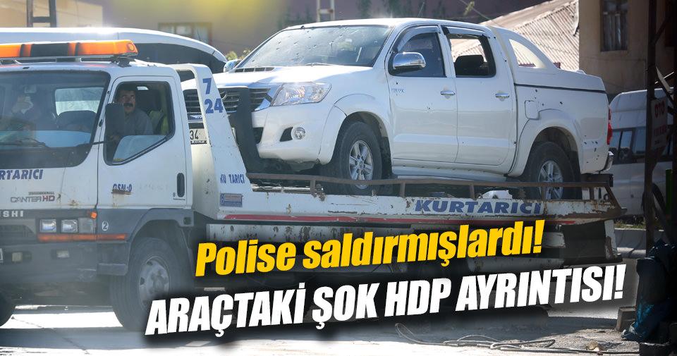 Van'da öldürülen teröristler belediye aracından çıktı