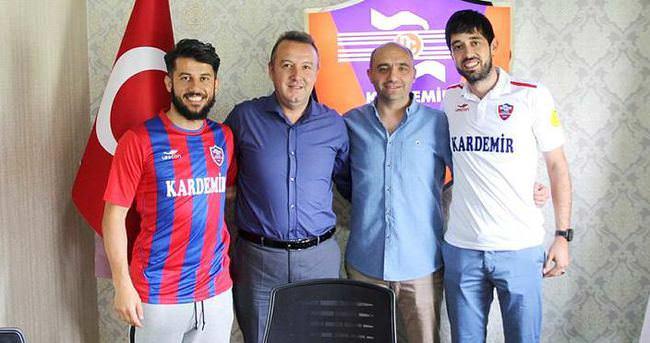 Karabükspor'dan iki transfer birden
