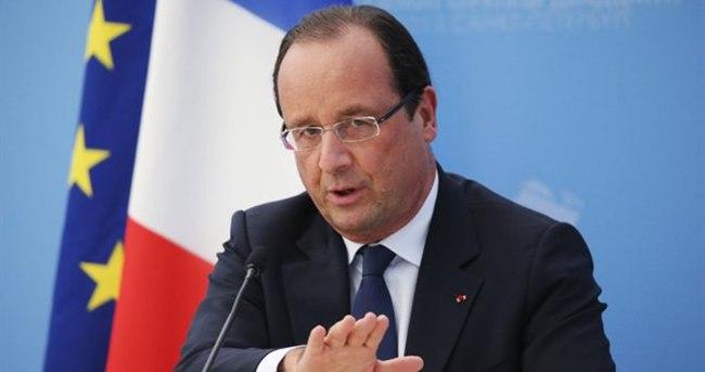 Hollande'dan Fransa'daki olaylarla ilgili yeni açıklama