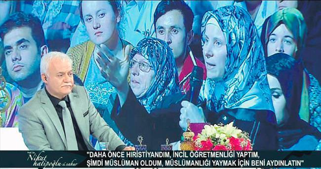 Nihat Hatipoğlu'ndan Müslümanlığı seçen Moldovyalı kadına yardım eli