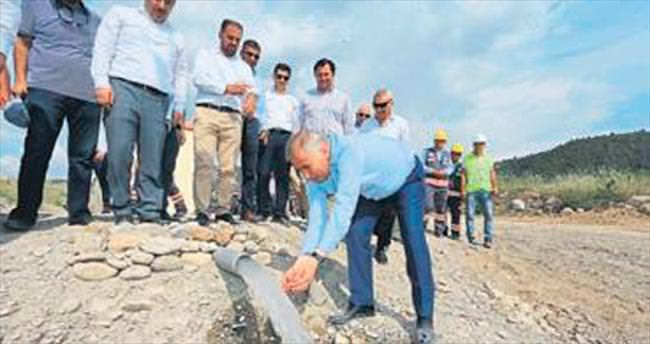Honaz'daki altyapı sorunları bitiriliyor