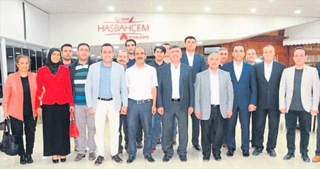 Başkan Akdoğan muhtarları ağırladı