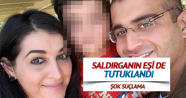 Saldırganın eşi de tutuklandı