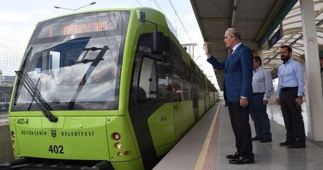 Bursa'da üretilen yerli vagonlar raylara çıktı