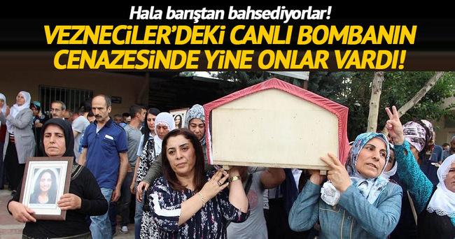 Diyarbakır'da canlı bombaya tören yapıldı!