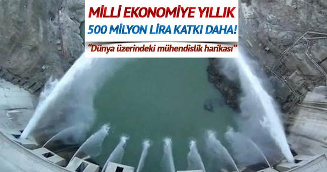 Milli ekonomiye 500 milyon lira katkı daha