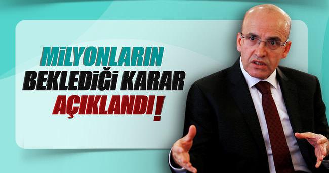 Mehmet Şimşek'ten BES açıklaması