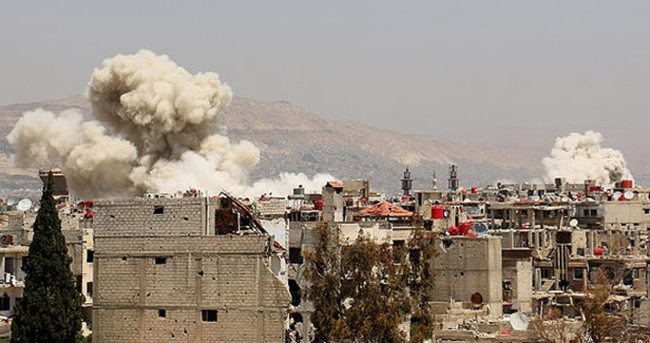 Halep yine kan gölüne döndü