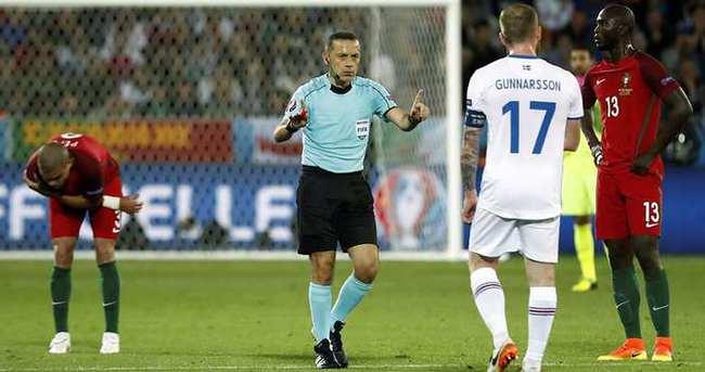 Belçika - İrlanda maçının hakemi Cüneyt Çakır
