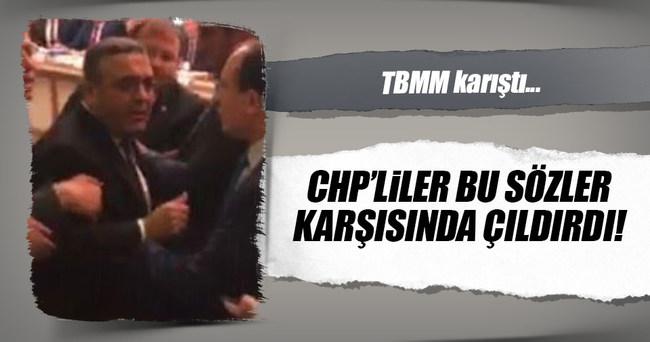 Bakan Bozdağ ile CHP milletvekilleri arasında tartışma