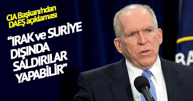 CIA Başkanı Brennan'dan DAEŞ uyarısı