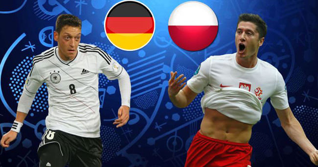 Almanya-Polonya maçında beraberlik