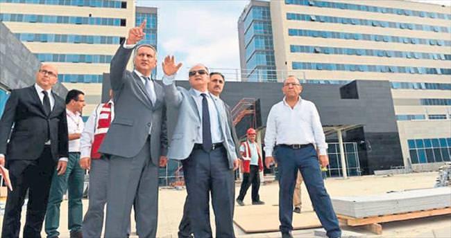 Mersin Şehir Hastanesi ağustos ayında açılıyor