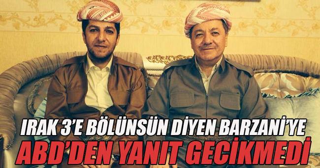 ABD'den Barzani'nin oğluna yanıt