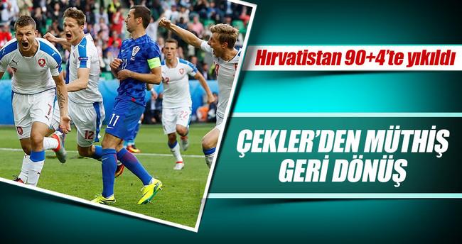 Hırvatistan 90+4'te yıkıldı