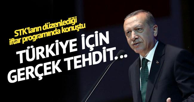 Cumhurbaşkanı Erdoğan: 'Türkiye için asıl tehdit...'