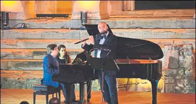İtalyan virtüözden muhteşem konser