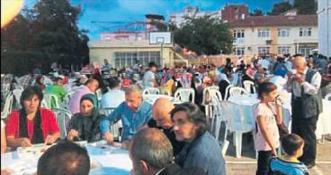 Narlıdere'deki İmam Hatip'te iftar etkinliği