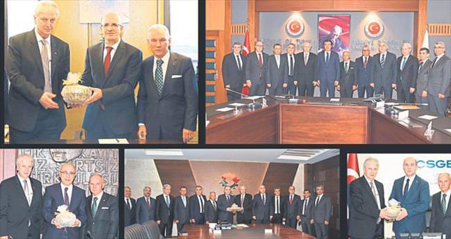 EBSO'ya Ankara morali