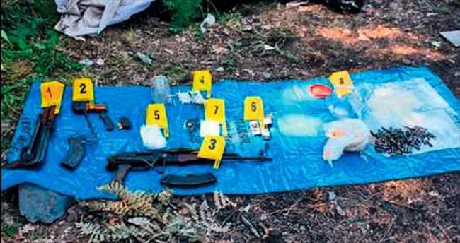İstanbul'da PKK cephaneliği bulundu
