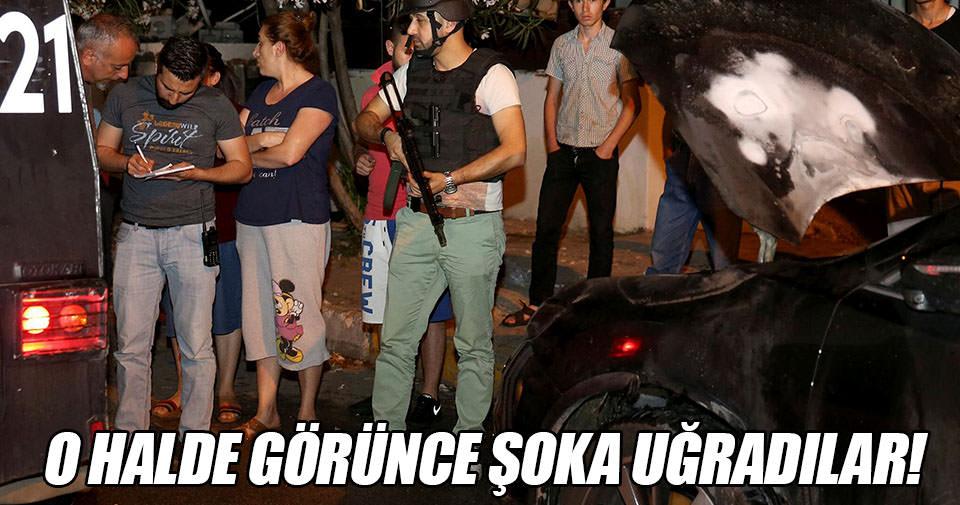 İstanbul'da araç kundakladılar