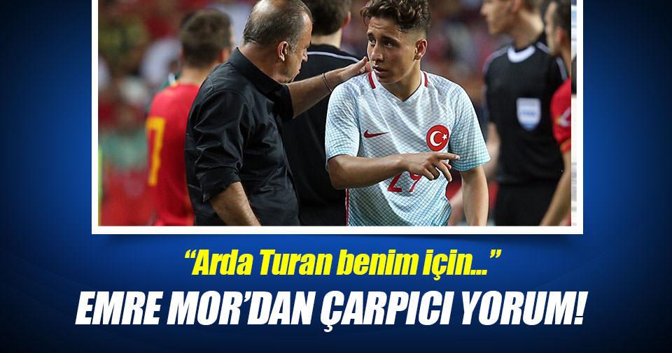 Emre Mor: Arda Turan benim için bir idol