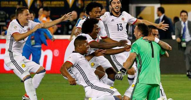 Kolombiya penaltılarla yarı finalde