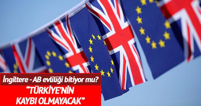 'Brexit durumunda Türkiye'nin kaybı olmayacak'