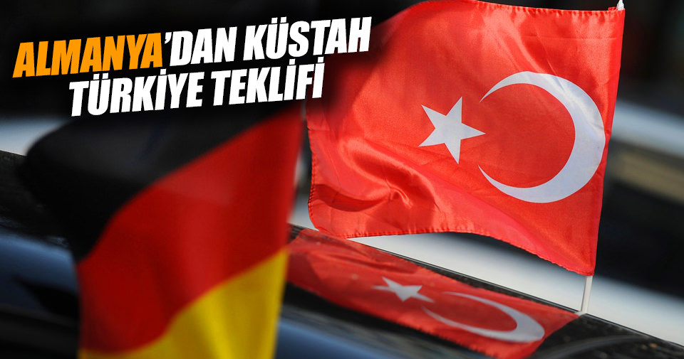 Almanlar'dan küstah Türkiye teklifi!