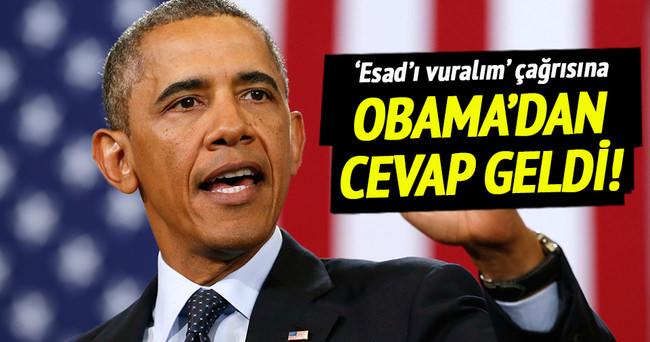 Obama'dan o çağrıya cevap geldi!