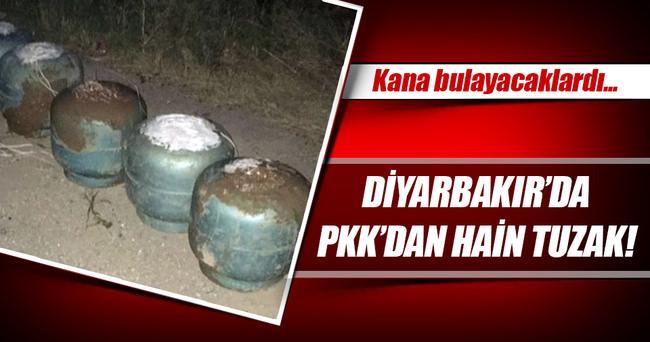 Diyarbakır'da PKK'dan hain tuzak!