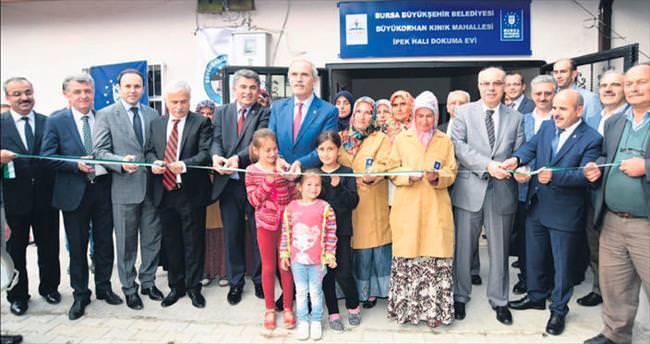 Büyükorhan'da çifte açılış