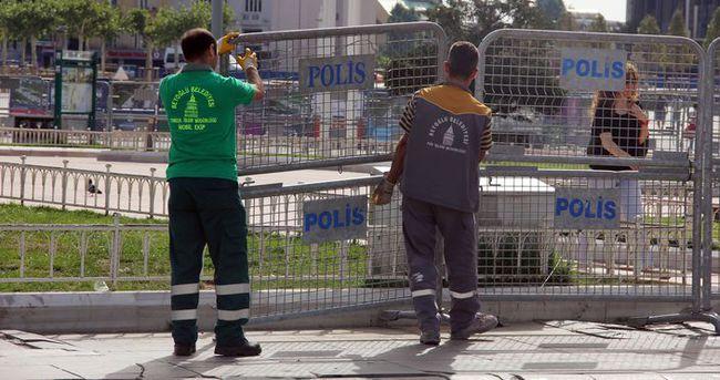 Taksim'de LGBTİ onur yürüyüşü önlemi