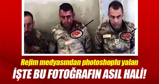 Rejim medyasından photoshoplu yalanlar!