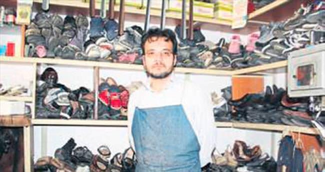 Unutulan ayakkabı ihtiyaç sahiplerine