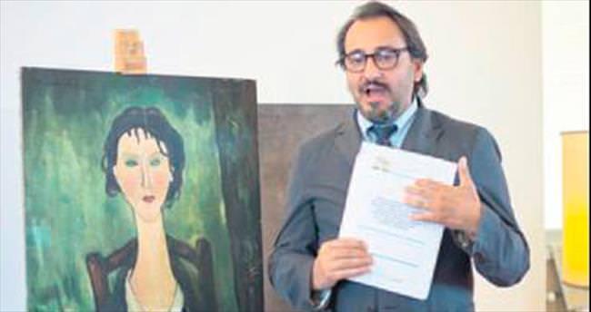 Modigliani tablosu çöpte bulundu
