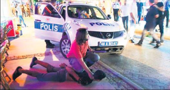 Bodrum'da turist kavgası: 14 yaralı