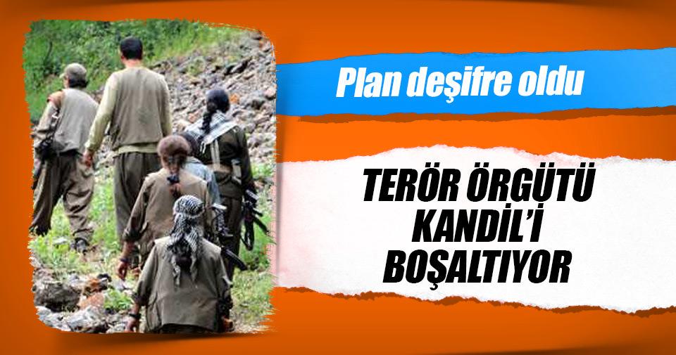 Terör örgütü Kandil'i boşaltıyor