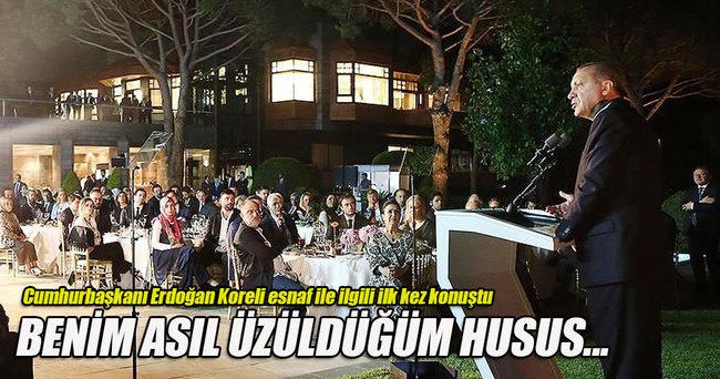 Cumhurbaşkanı Erdoğan Cihangir olayı ile ilgili ilk kez konuştu