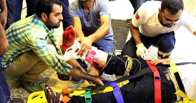 Kızıltepe'de bombalı saldırı: 4 yaralı