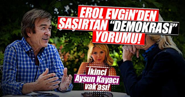 Erol Evgin'in sözleri sosyal medyada gündem oldu