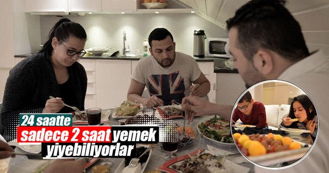 En uzun orucu tutan Türk ailesi
