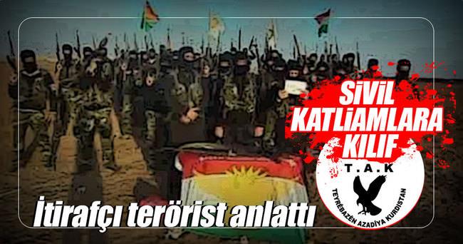 PKK terörist kimliğini 'TAK' ile silmeye çalışıyor