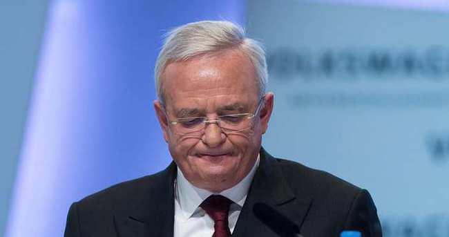 Volkswagen'in eski CEO'su hakkında soruşturma başlatıldı