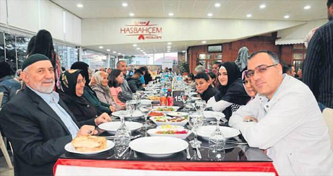 Şehit aileleri ve gaziler iftar yemeğinde buluştu