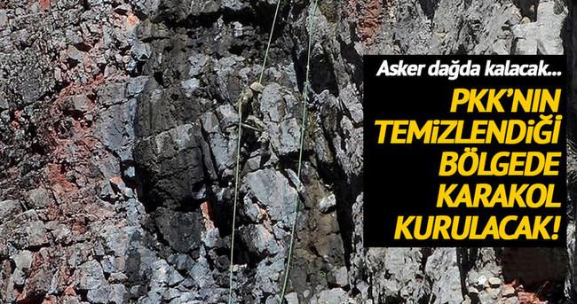 PKK'ya dağda kara operasyonu!